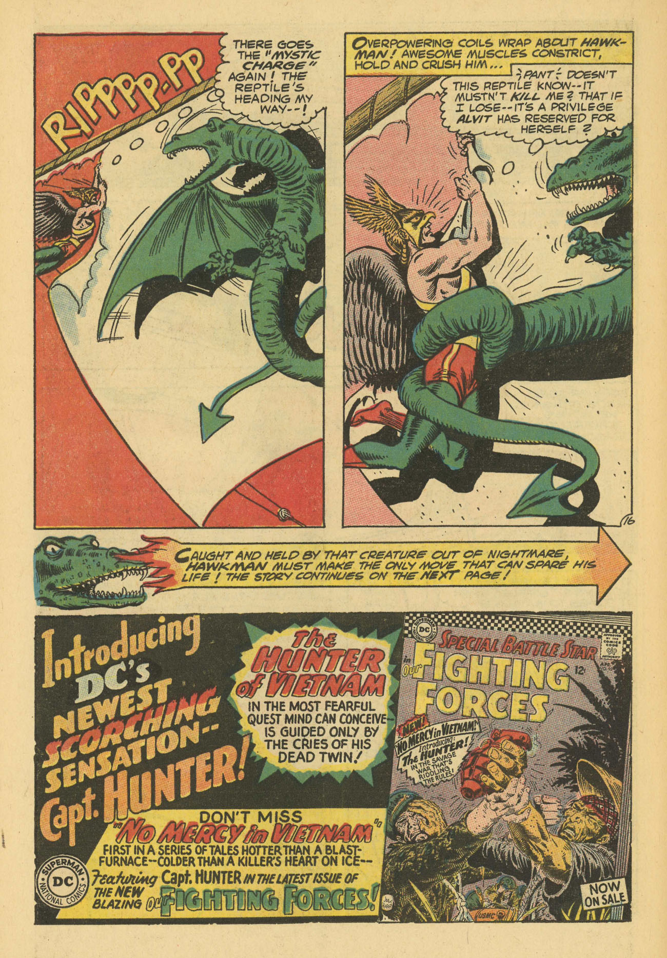 Hawkman (1964) issue 13 - Page 22