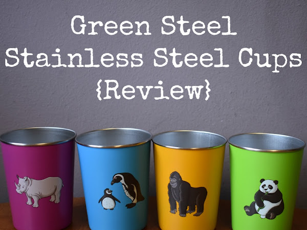 Green Steel Stainless Steel Cups {Review}