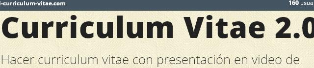 Curriculum Vitae 2.0