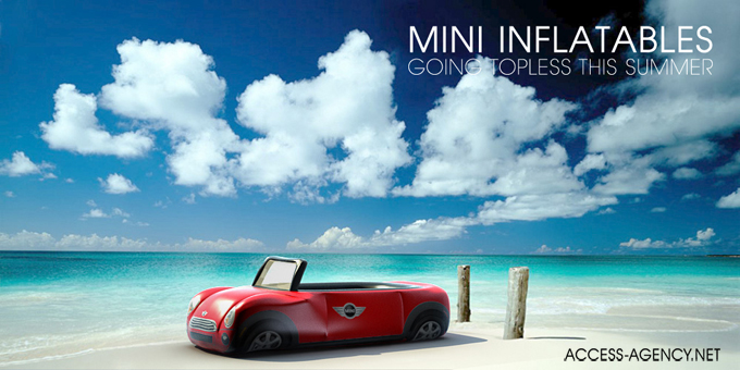 Mini Cooper Inflables