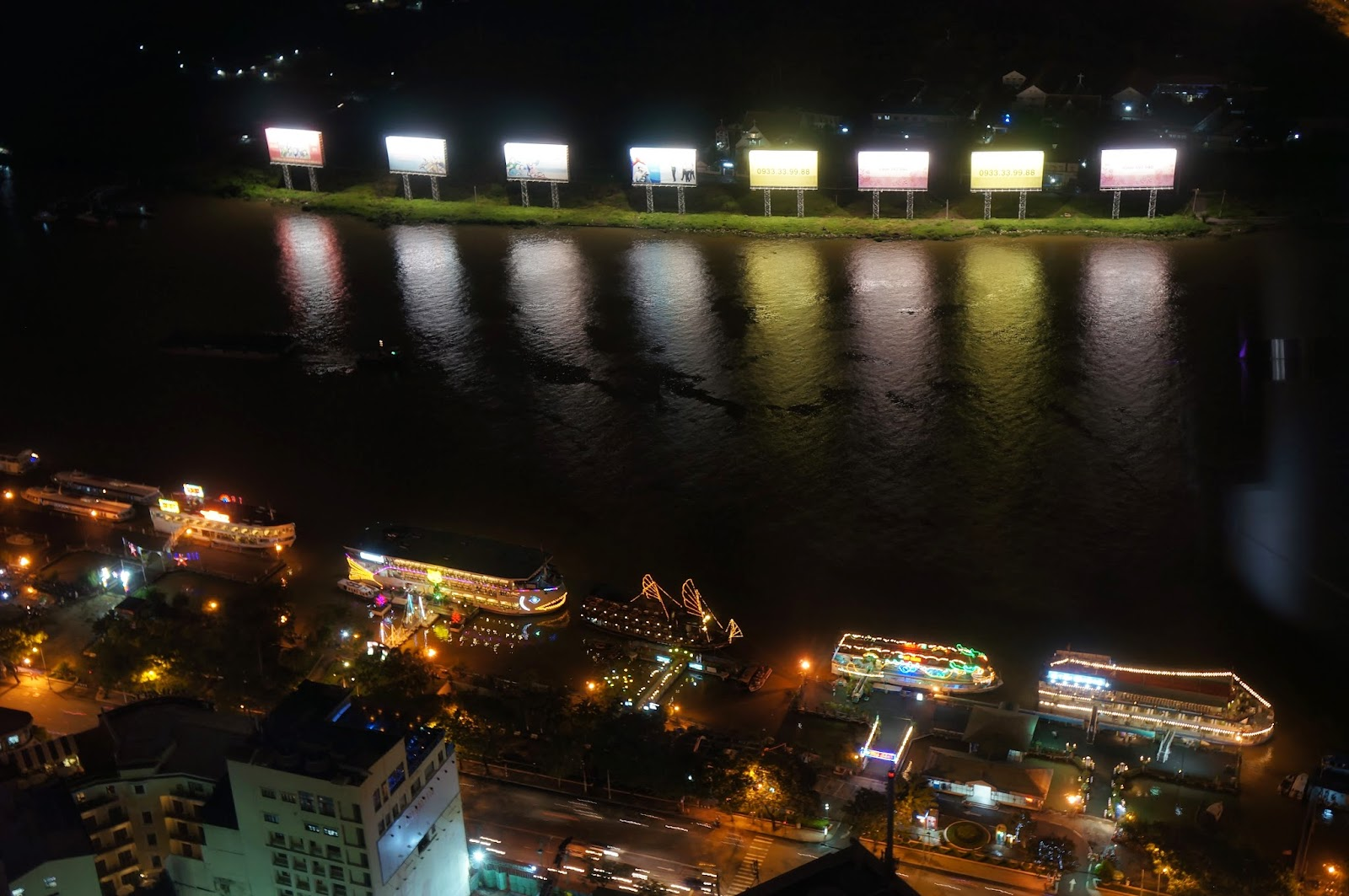 Ho Chi Minh City Riverside seen from Saigon Skydeck
