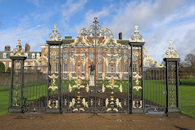 Kensington Palace through the Gold Gates