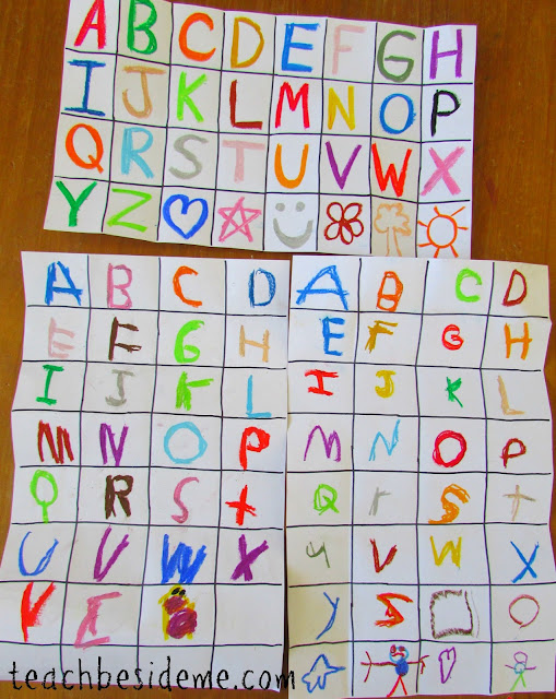 alphabet art project