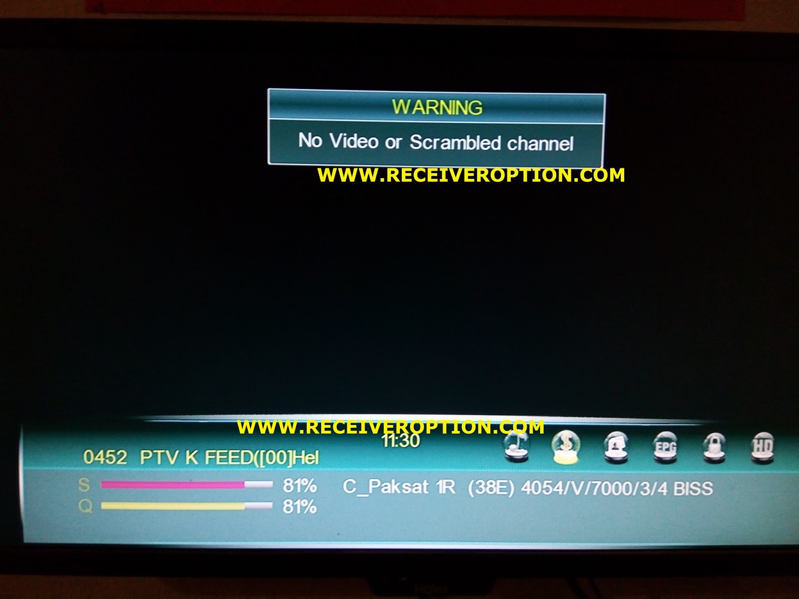 SUPER MAX SM 3000 HD 3G RECEIVER BISS KEY OPTION - HOW TO ENTER BISS