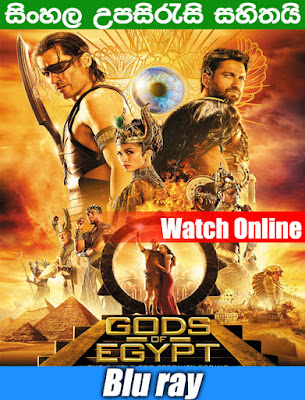 Gods of Egypt 2016 Full Movie Watch Online Free