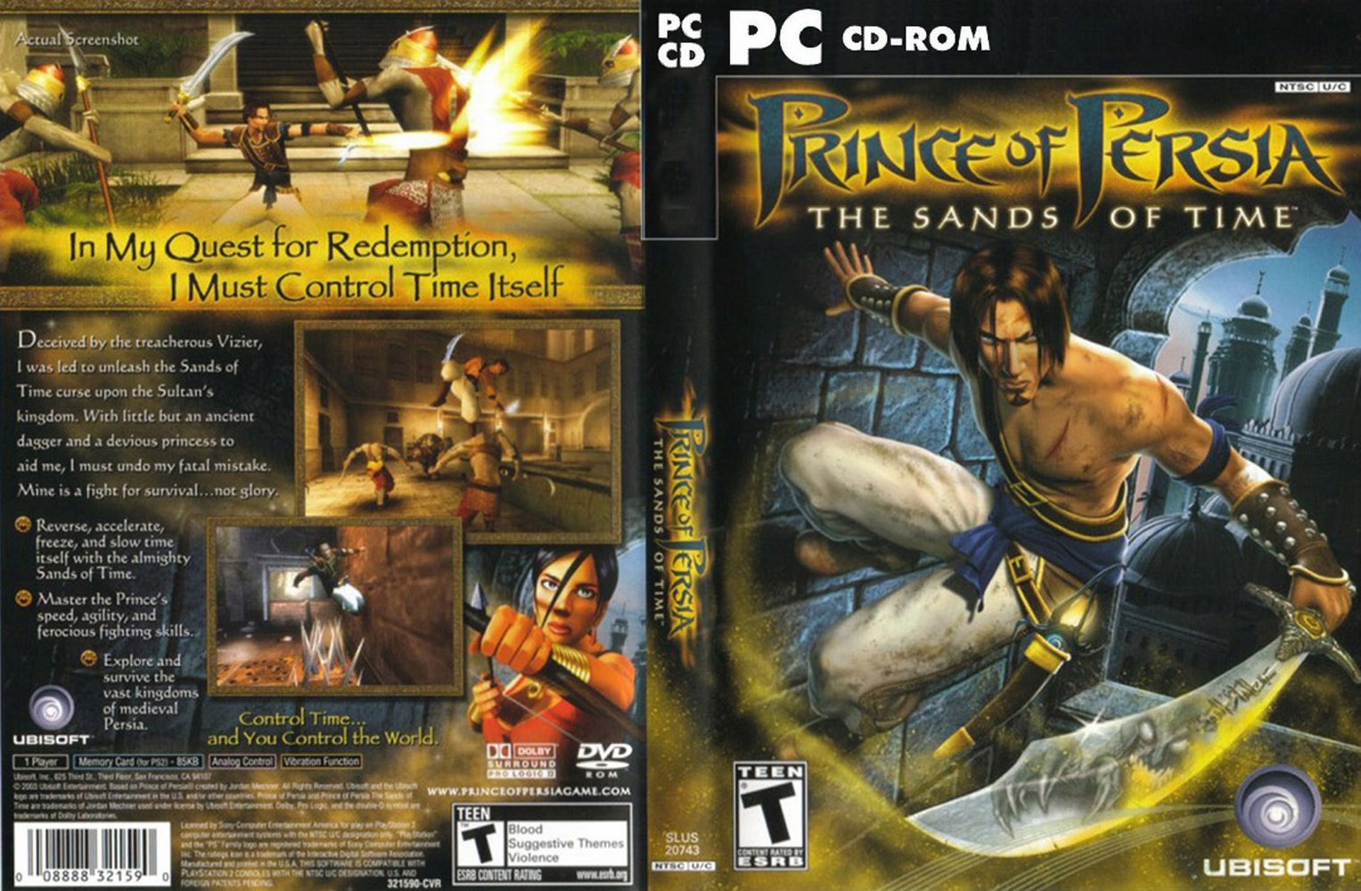 My Blog Prince Of Persia The Sands Of Time Pc Game