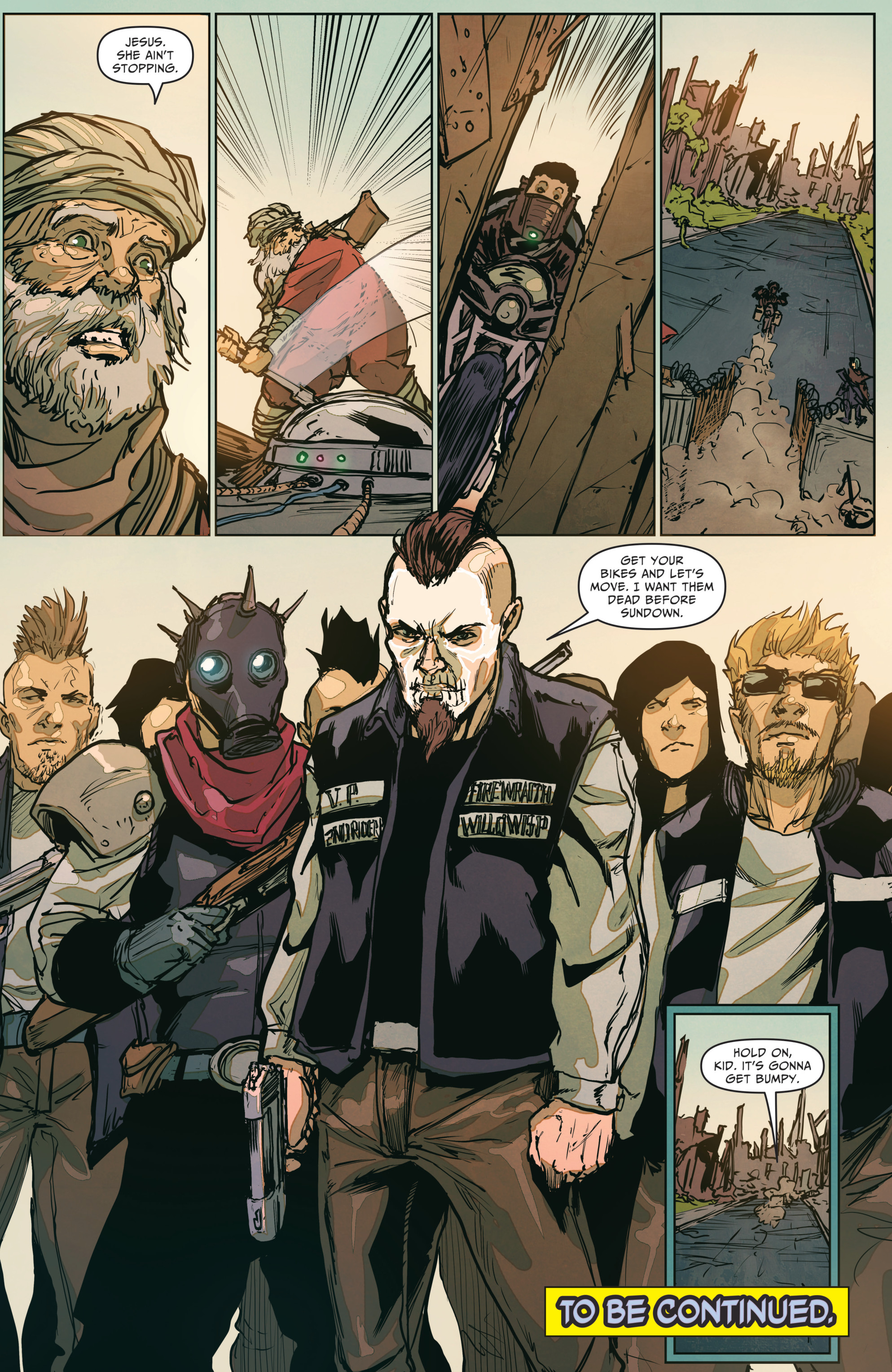 Read online The Courier: From the Ashes comic -  Issue #3 - 24