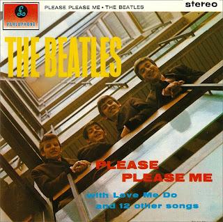 The Beatles - Capa do disco Please Please Me, de 1963