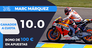 Paston Megacuota 10 Márquez ganador MotoGP Aragon 2017 +100 euros 24 septiembre