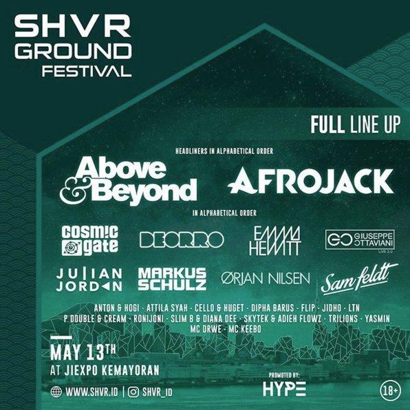 SHVR Ground Festival - Lorong Musik