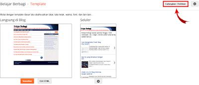 Download Template Blogger Belajar Berbagi