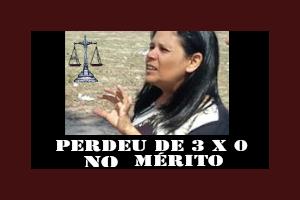PREFEITURA DE PANELAS PERDE DE 3X0 NO MÉRITO