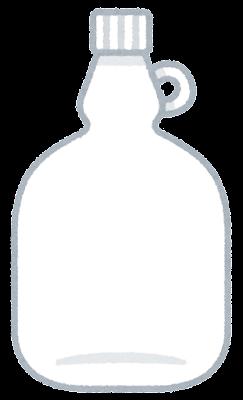 空の試薬瓶のイラスト3