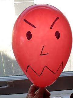 Balloons of anger play therapy
