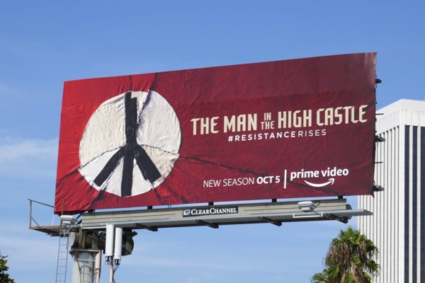 Man in High Castle season 3 billboard