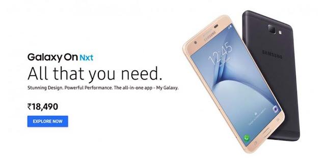 Spesifikasi Samsung Galaxy On Nxt Dengan Kamera Resolusi 13 MP