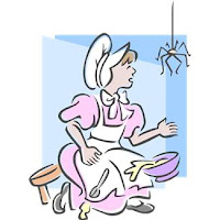 Image of Ms Muffet from children's nursery rhyme