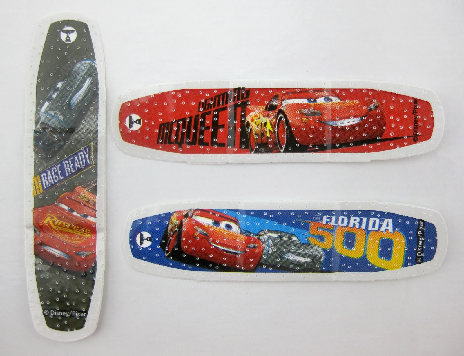 disney pixar Cars 3 Band-Aids