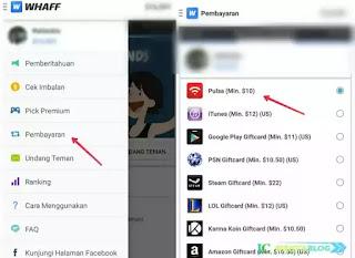 Whaff memang aplikasi penghasil dollar terpopuler yang ada di playstore Cara Praktis Menukarkan Saldo Whaff Ke Paypal, Pulsa, dan Googleplay Gift Card