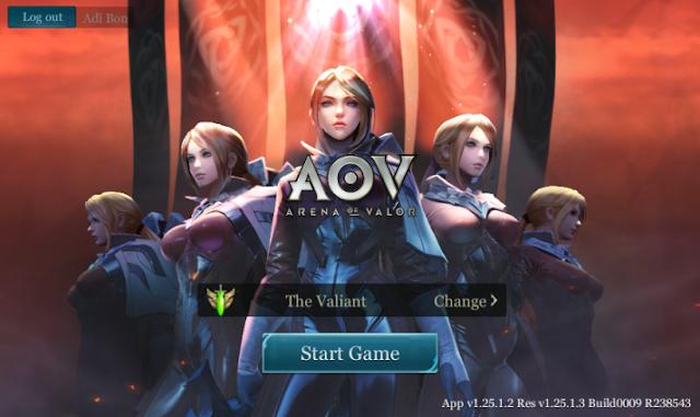 Arena Of Valor Server Asia