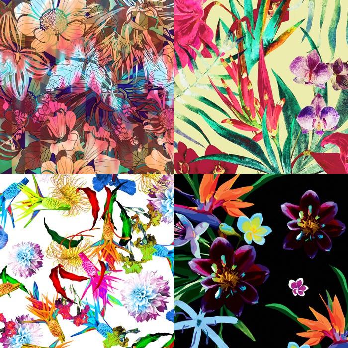Design Print Trends: FASHION VIGNETTE: TRENDS // PATTERNBANK PRE SPRING/SUMMER