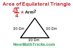 Triangle-mensuration-solved -by-area-formula-math-tricks