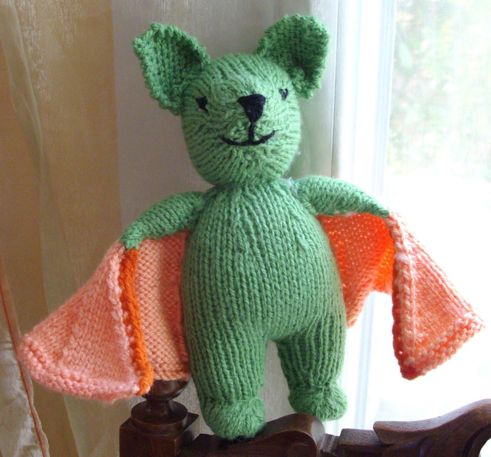 Du tricot et des jouets chauve souris for Modele chauve souris