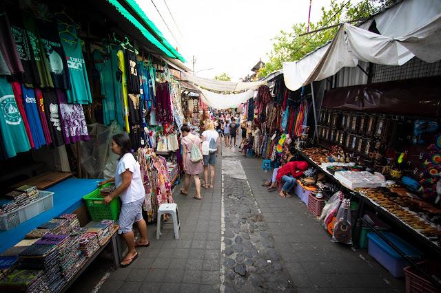 Mercato di Ubud-Bali