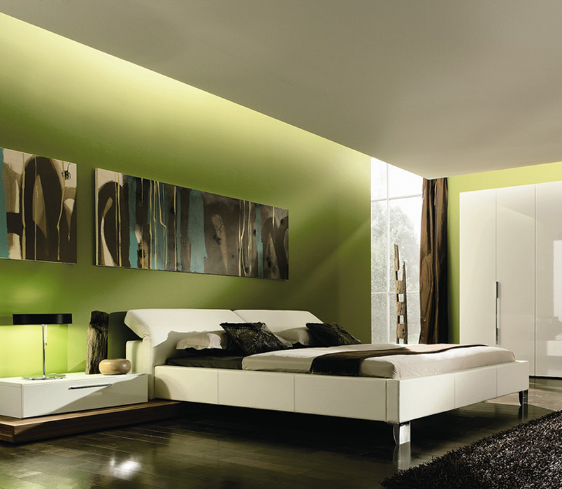 Slaapkamer Interieur Kleur