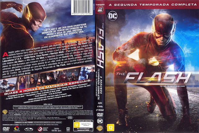 Capa DVD The Flash Segunda Temporada Completa
