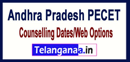 AP Andhra Pradesh PECET 2018 Counselling Dates/Web Options