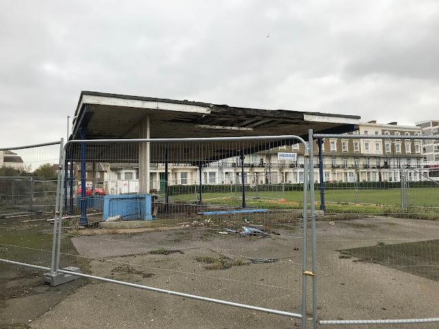 Derelict building, Cliftonville, Margate, Kent