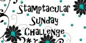 A winner at Stamptacular Sunday Challenges