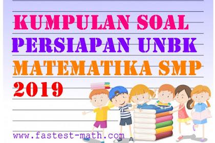 Download Kumpulan Soal dan Pembahasan TPPU DIY Matematika SMP/MTs Tahun 2019