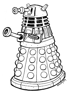 Doodlecraft: Doctor Who Party Week: Invitations and