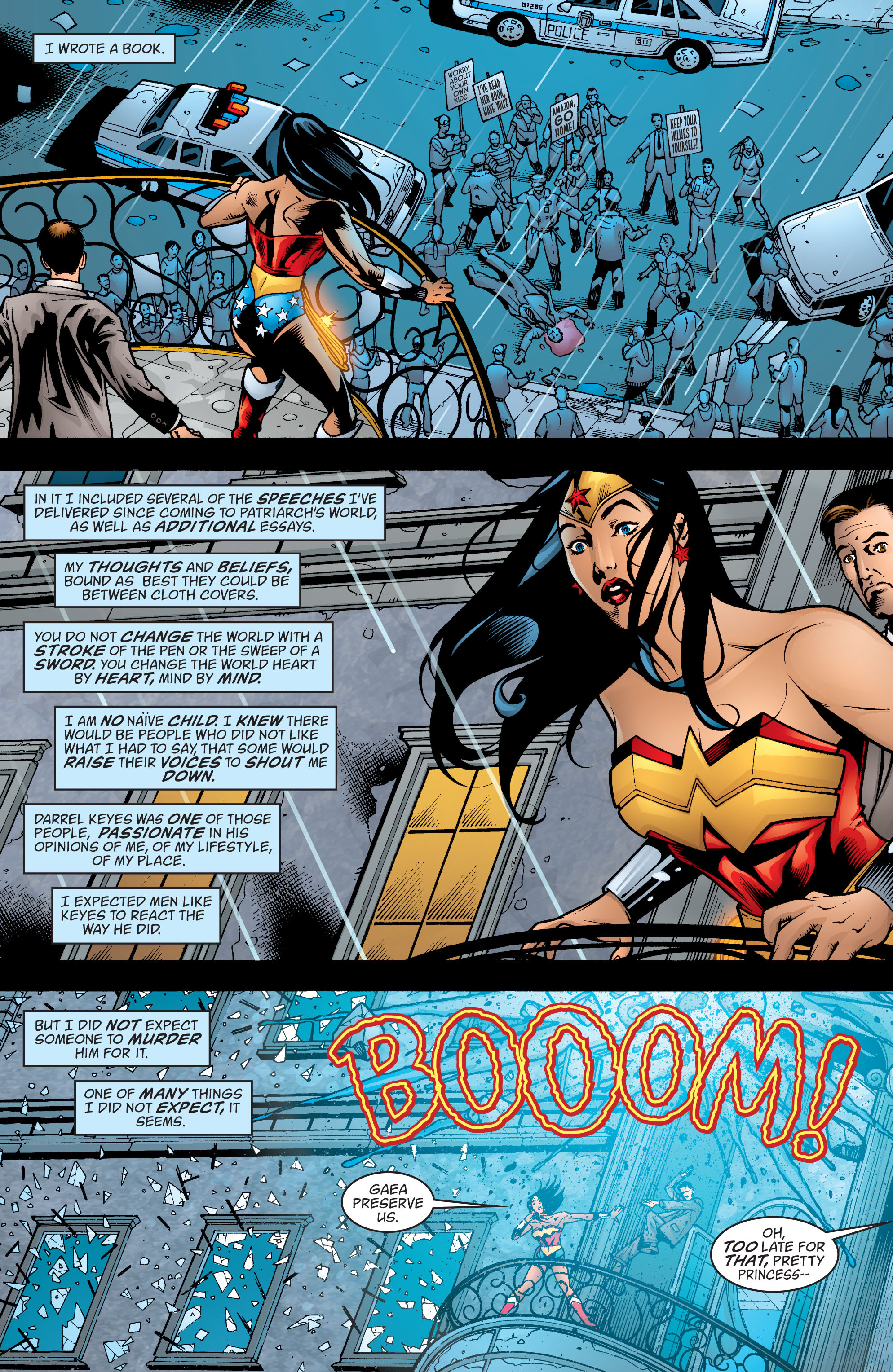 Read online Wonder Woman (1987) comic -  Issue #200 - 2