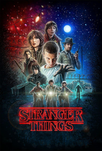 Póster original Stranger Things