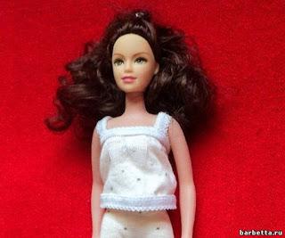 Барби, для кукол, одежда кукольная, пижама, шитье, гардероб кукольный, белье кукольное, Barbie, мастер-класс, своими руками, текстиль, из ткани, из трикотажа, шитье для кукол, для Барби,