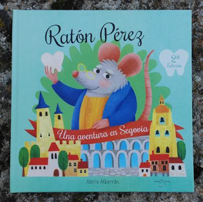 Raton Perez Portada - Maria Albarran Ilustracion