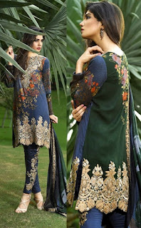 Ittehad Royal Embroidered Shawl Fall-Winter 2016-17 Catalog Vol-2