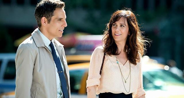 Kristen Wiig şi Ben Stiller în drama The Secret Life Of Walter Mitty