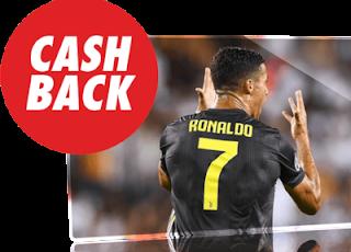 circus cashback Juventus vs Napoli 29 septiembre