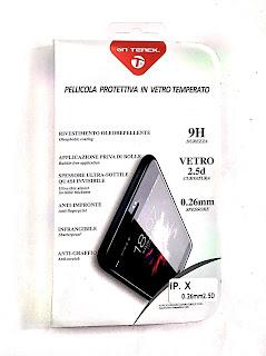 "pellicola vetro temperato iphone x 5.8"" 0.26mm on tenck"