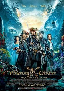 Piratas do Caribe A Vingança de Salazar Dublado 2017