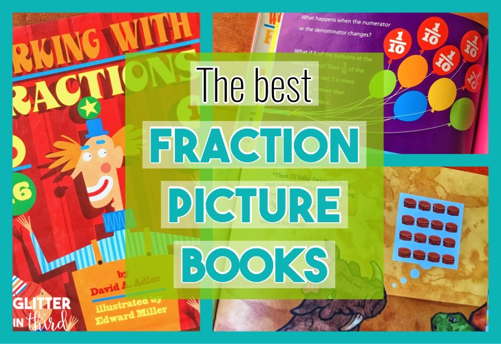 fraction math picture books