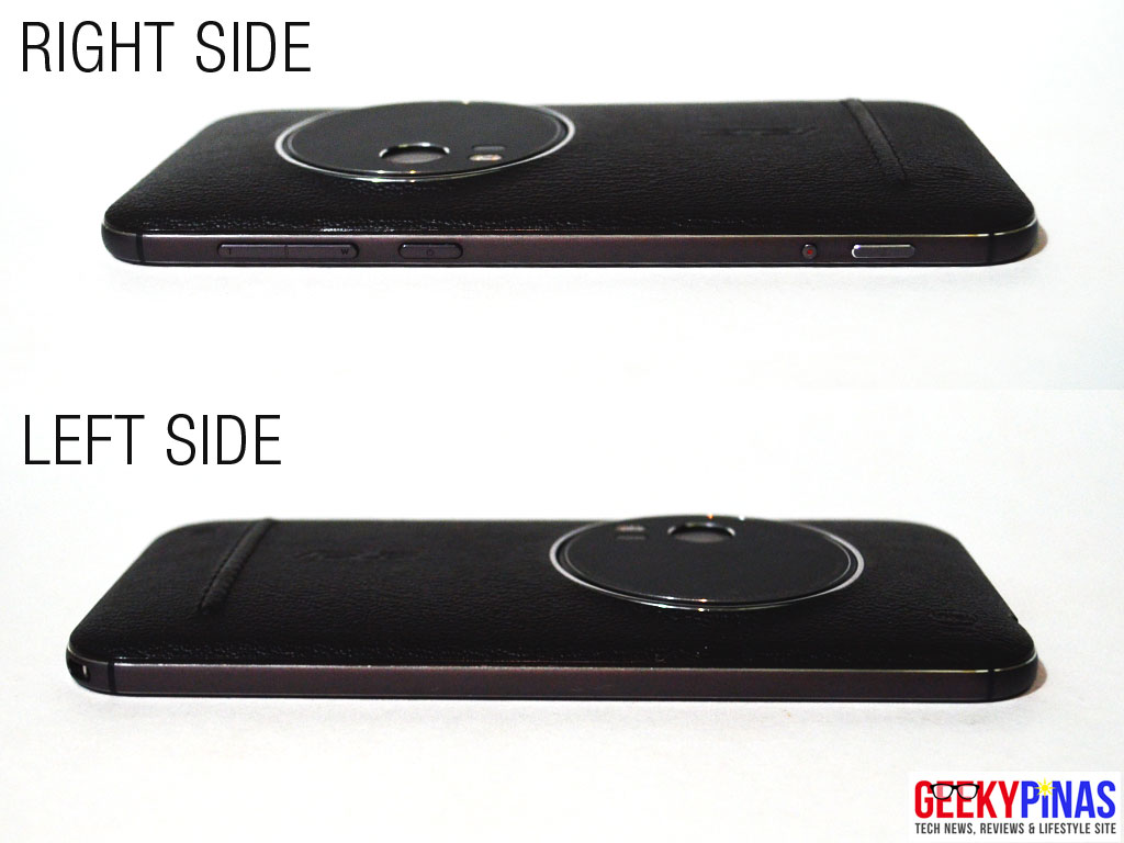 ASUS Zenfone Zoom (ZX551ML) left and right view