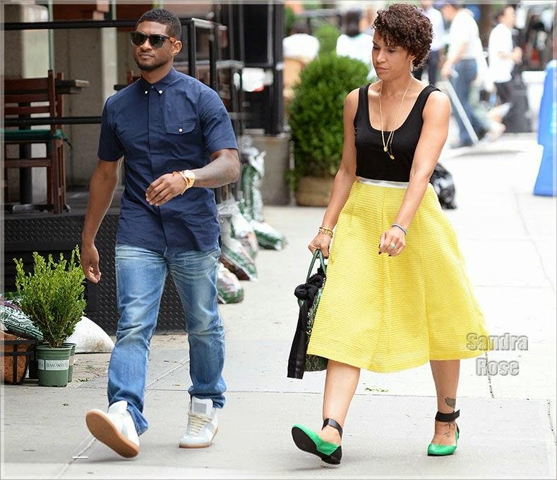 Usher Größe