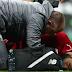 محمد صلاح يتعرض لإصابة قوية بمبارة ليفربول ضد نيوكاسل