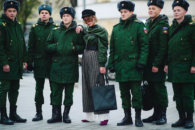 Moscow Fashion Week Street Style