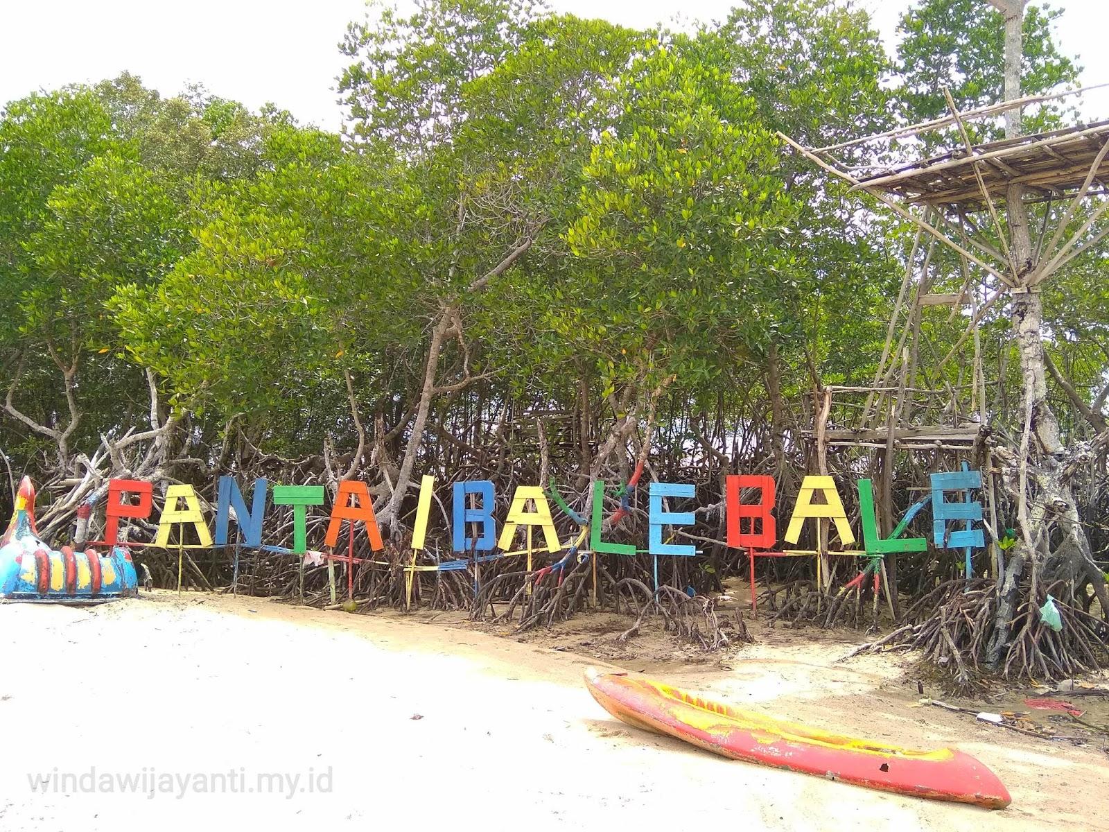 Wisata Murah Pantai Bale Bale Nongsa Batam Winda Wijayanti